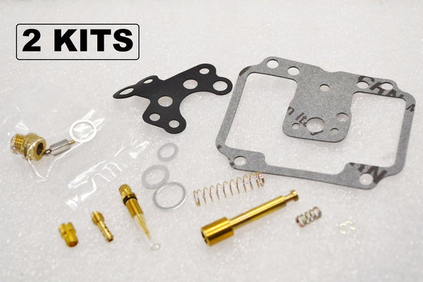 2x Yamaha 78-79 XS650 Carburetor Carb Rebuild Kit BS38 CV - 2 KITS