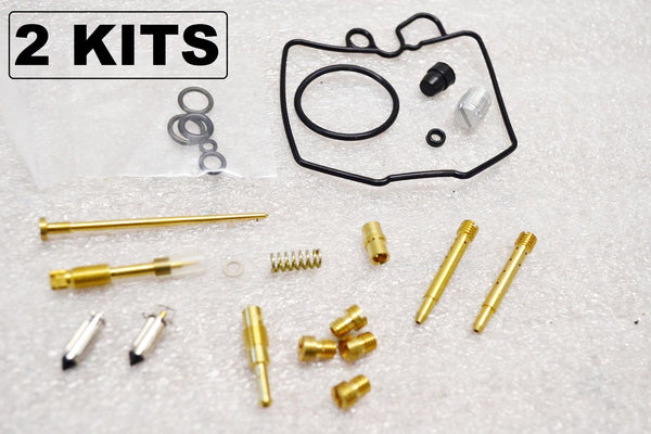 2x Honda 78-81 CB400T CB400 Hawk Carburetor Carb Rebuild Kit - 2 Kits