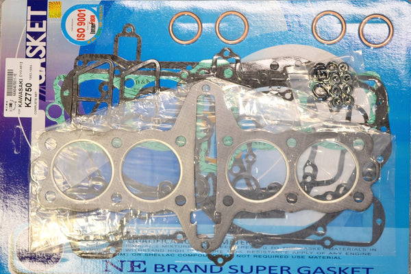Kawasaki 82-83 KZ750 83-85 ZX750 GPz Complete Engine Gasket Kit Set