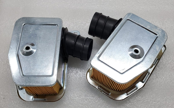 Honda 68-71 CB450 67-71 CL450 Air Filter Set Left and Right - Reproduction