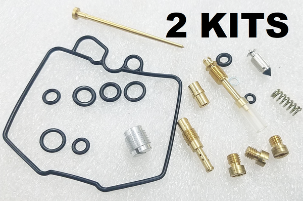 2x Honda 83-86 CB450SC CB450  450 Nighthawk Carburetor Carb Rebuild Kit - 2 KITS