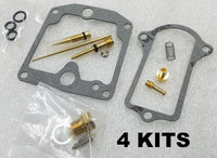 4x Carburetor Carb Rebuild Kit compatible with Suzuki 1977-79 GS550 GS550E