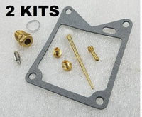 2x Yamaha 81-83 XV750 750 Virago Carburetor Carb Rebuild Kit - 2 KITS