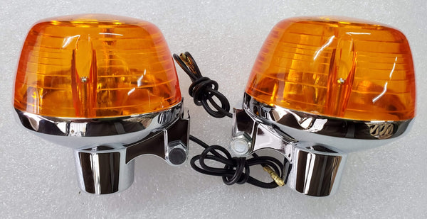 Honda CB100 CB350 CB450 CB500 CB750 Single Filament Rear Turn Signal Set