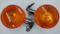 Honda GL1000 CX500 CB750 CB550 CB400F Single Filament Rear Turn Signal Set