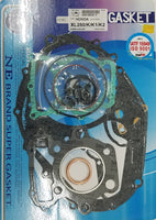 Honda 1973-76 XL250 Complete Engine Gasket Kit Set