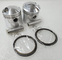 Honda CB350 CL350 SL350 Piston Kit < 2 Kits > STD Size - New Repro