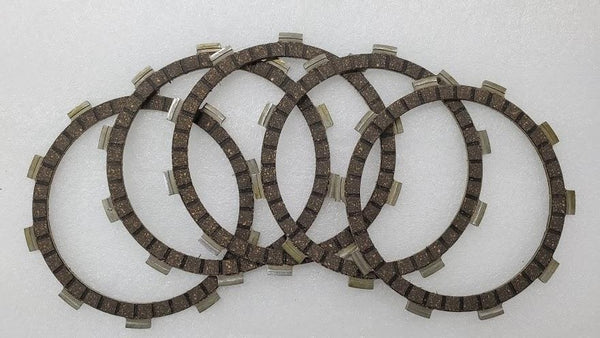 Honda CB200 CL200 CB175 CL175 XL175 SL175 Clutch Friction Disc - Set of 5