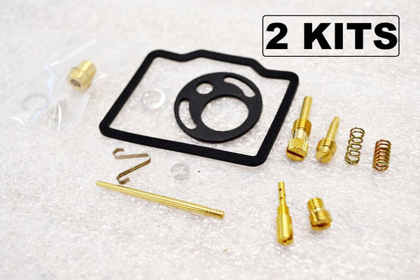 2x Honda 69-71 CB175 CL175 Carburetor Carb Rebuild Kit - 2 Kits