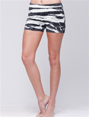 Zebra Tie Dye Shorts - Sale item
