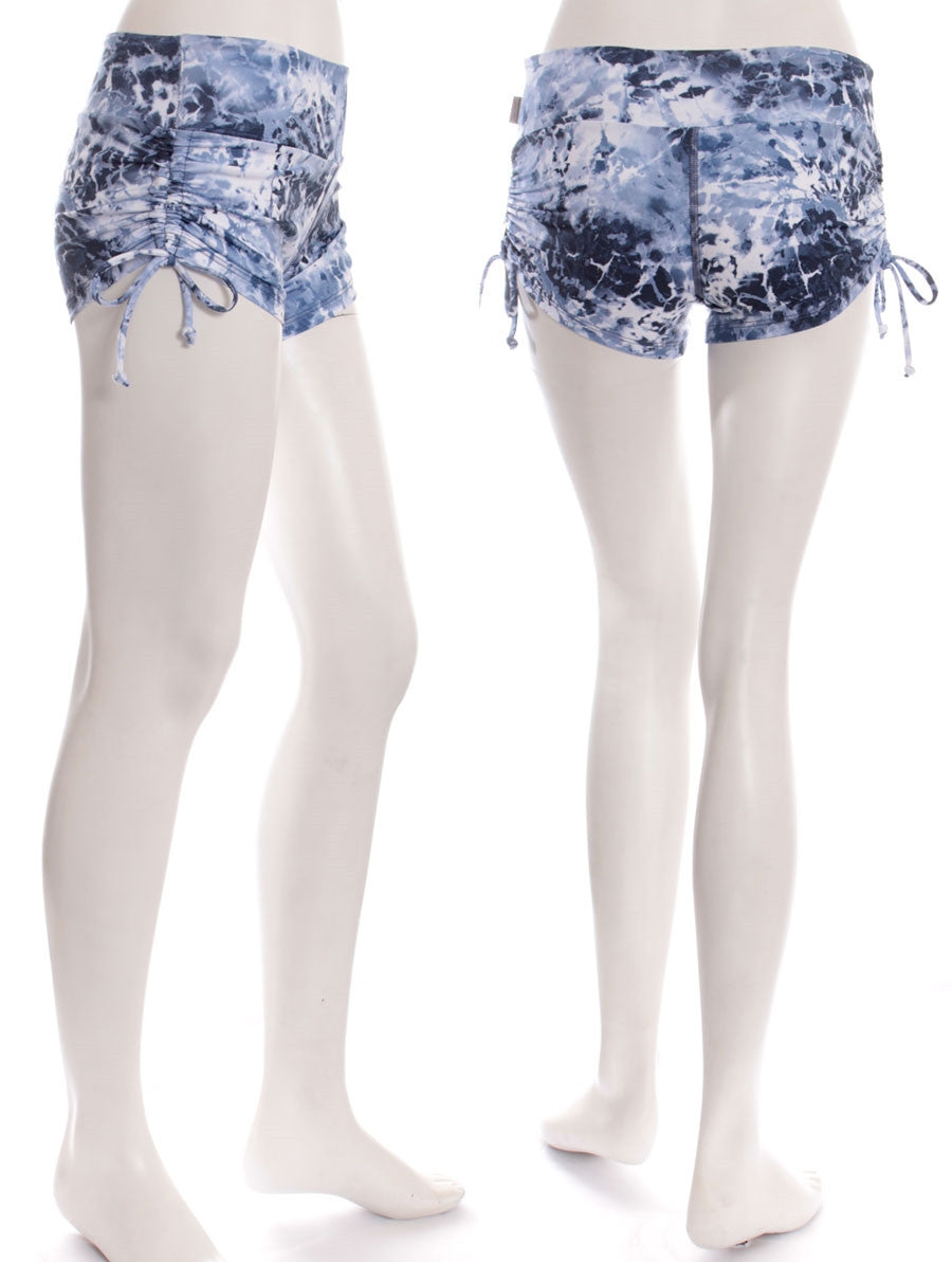 Oceans Print Breath Shorts