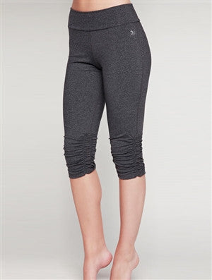 Side Cinch Hem Capri