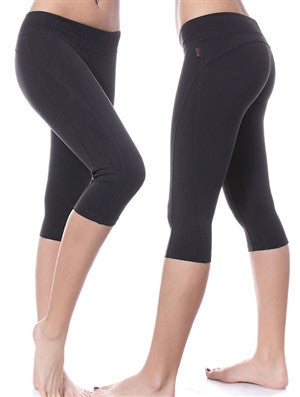 Curved Back Kick Capri