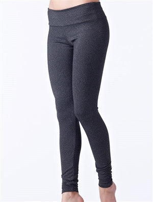 Shirring Hem Skinny Pants