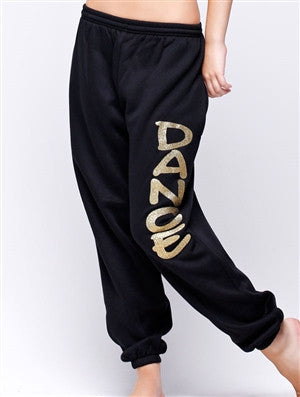 Dance Fleece Pants_Glitter