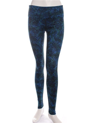 Blue Monet Print Studio Legging
