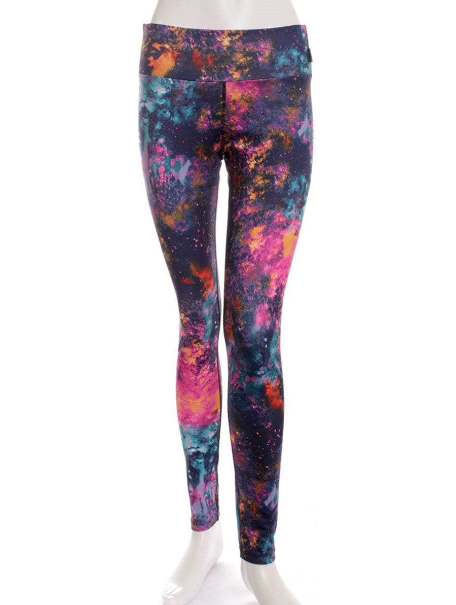 Space Bright Print Studio Legging