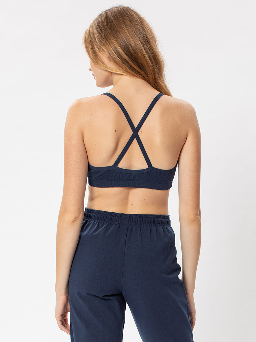 X-Back Bra Top- Cotton