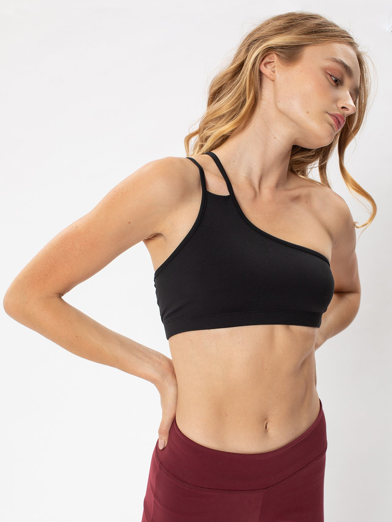 Asymmetrical Bra Top