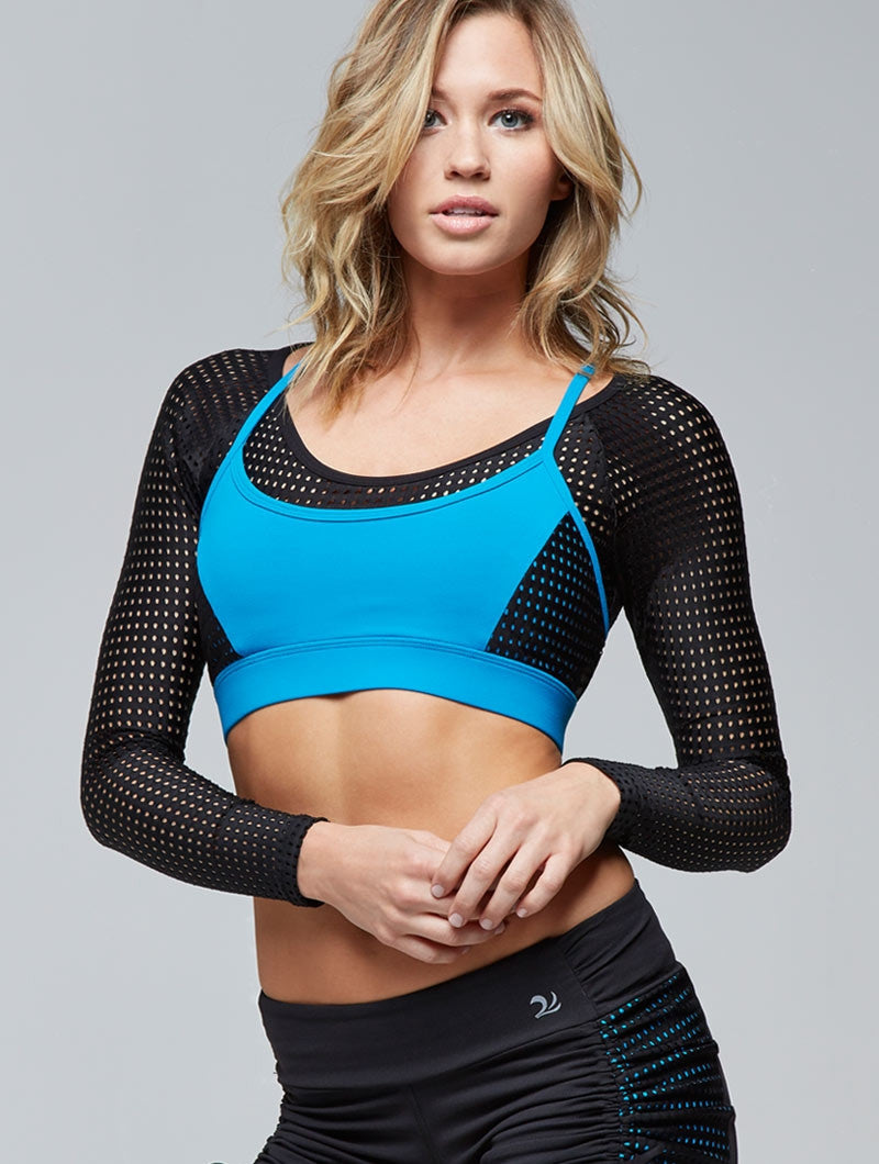 Siren Mesh Crop Top
