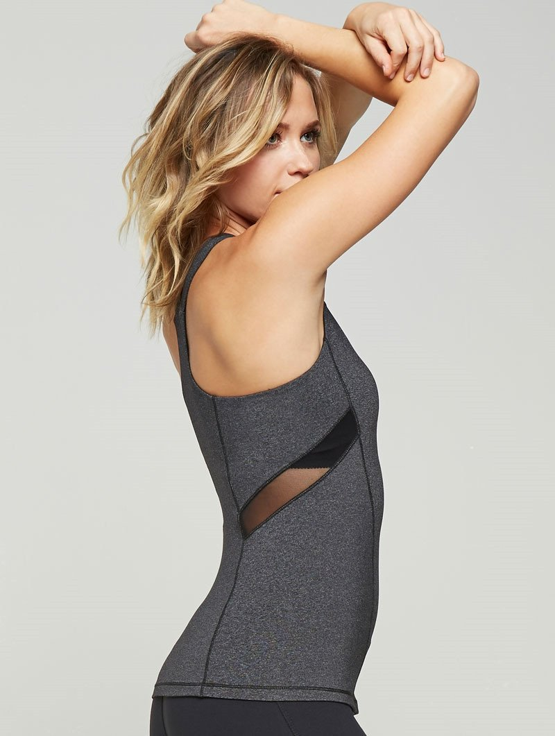 Mesh Inset Curved Tank