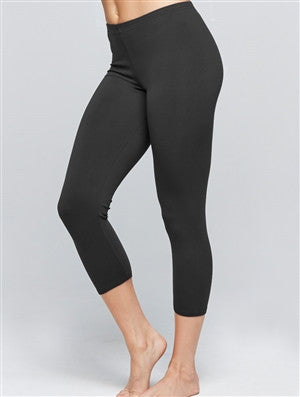 Basic Capri Leggings in Cotton