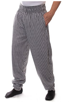Heather Bubble Stripes Baggy Muscle Pants