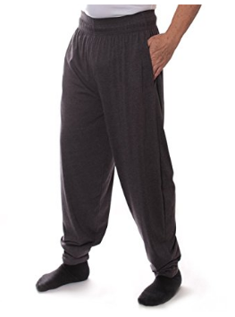 106 Solid Baggy Muscle Pants