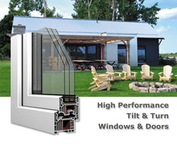 Windows & Doors - High Performance Tilt&Turn