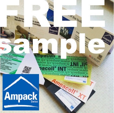 FREE Ampack Sample - Pinwheel Building Supplies 1-800-905-9934