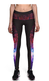 Ayliss Women Yoga Fitness Galaxy Print Leggings High Waist Pants
