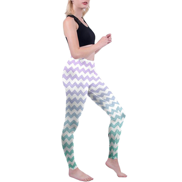 Ayliss women gym leggings full length pants high elastic exercise leggings
