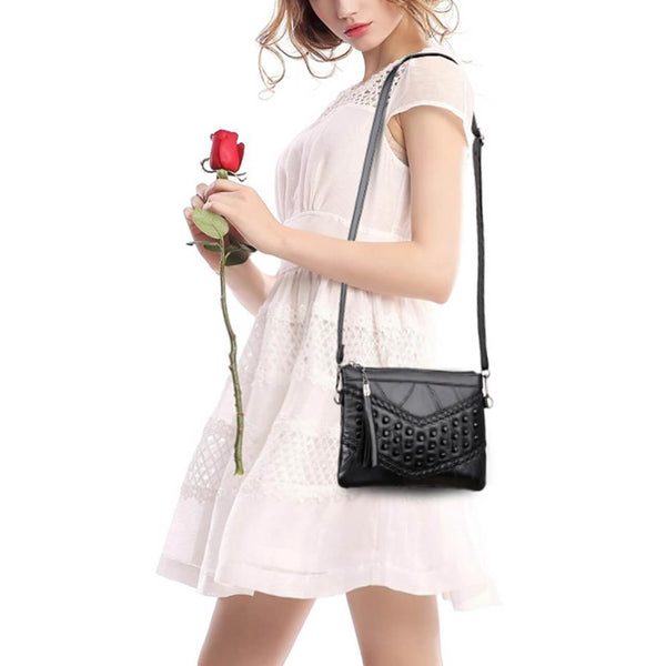 Ayliss leather corssbody bags for women