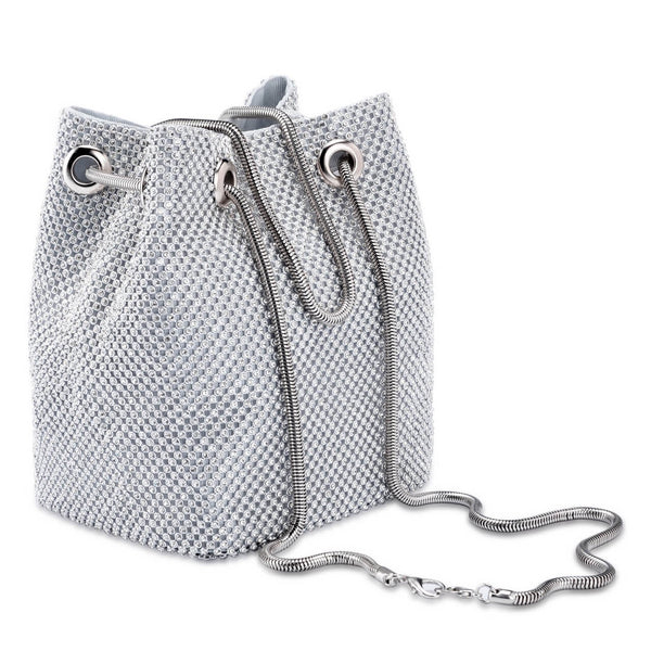 Ayliss Women's Full Rhinestones Bucket Bag