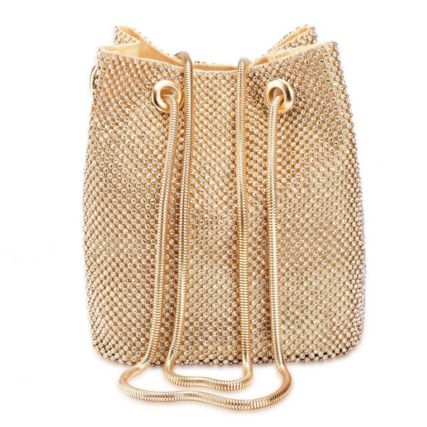 Ayliss gold crossbag for women