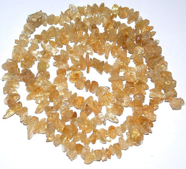 Natural citrine stone Healing Reiki Crystal Jewelry Making DIY