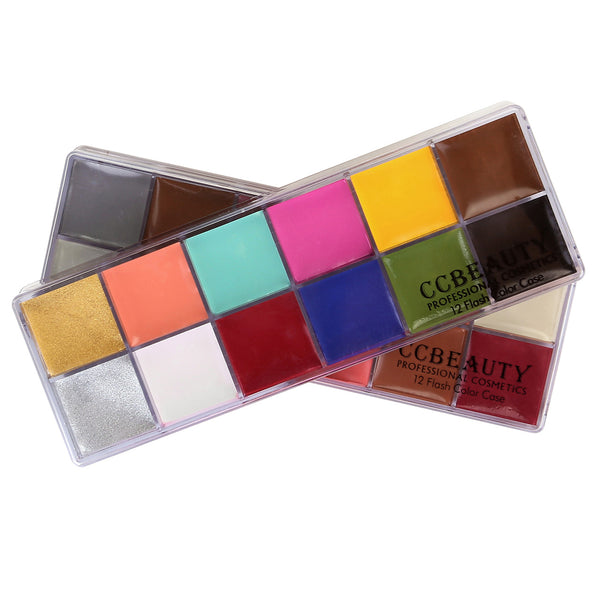 Professional Face Paint Oil 24 Colors Painting Art Party Fancy Make Up