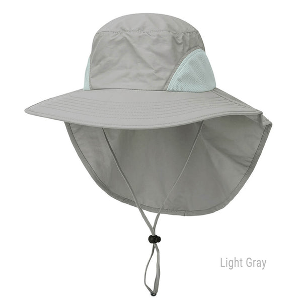 Ayliss unisex sun hat UV protection light weight mesh fishing hat
