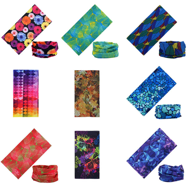 ayliss unisex printed bandanas headwear scarf for riding, tag060203