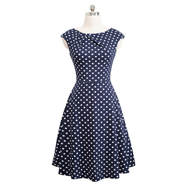 Ayliss women summer cute polka dot dress fashion sunday stylish dresses