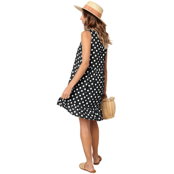 yca030601 ayliss women summer Casual Dress for beachwear