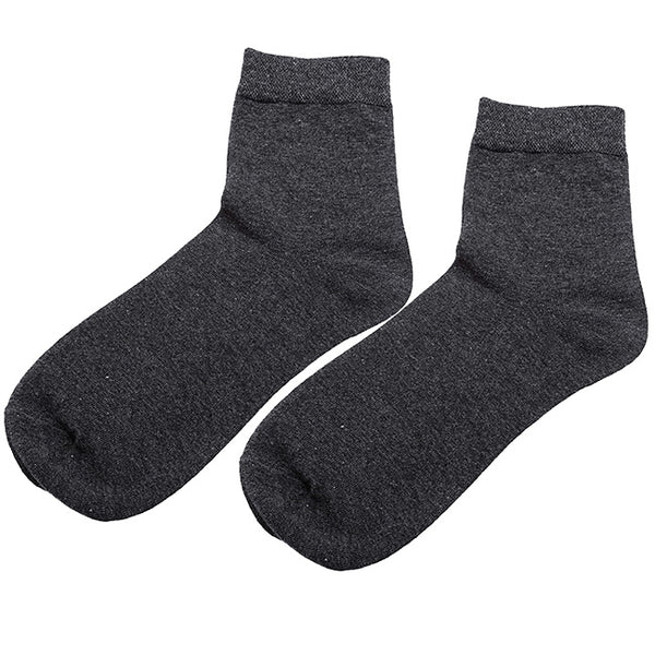 Men's Dress Socks Cotton Business Casual Socks 3-Pack
