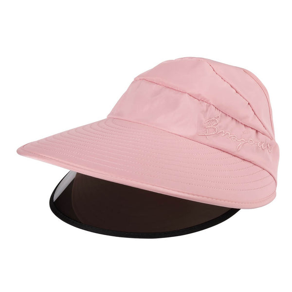 Ayliss outdoor protection sun hat women windproof baseball cap, pink, ycf03040