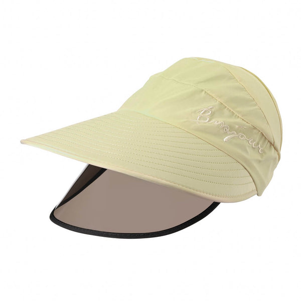 Ayliss yellow sun baseball cap with visor windproof for outdoor gradening, ycf03040