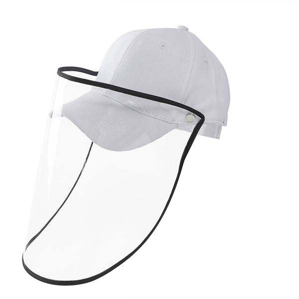 Ayliss Safety Full Protective Facial Baseball Cap Eye Anti-Saliva Anti-Spitting Hat