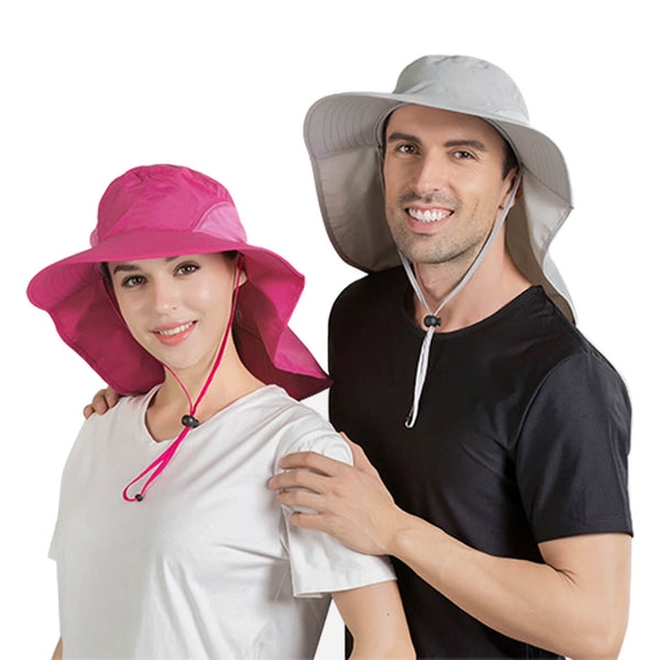 Ayliss unisex sun protection fishing hat with neck flap cover