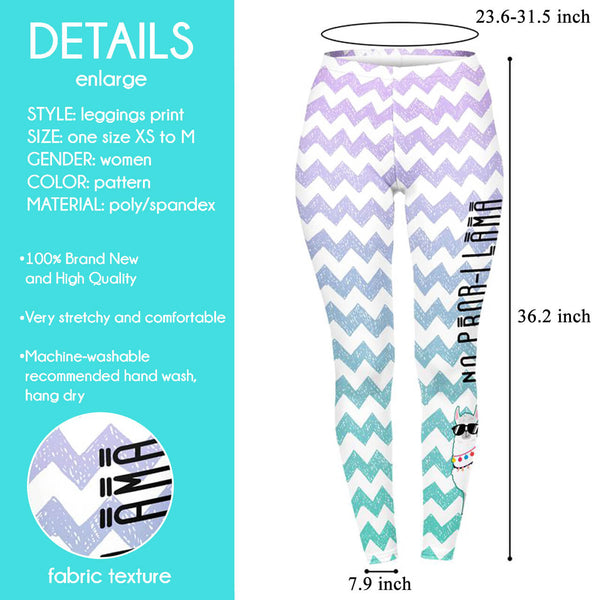 Ayliss Women Patterned Print Leggings High Waist Yoga Skinny Pants Elastic Tights