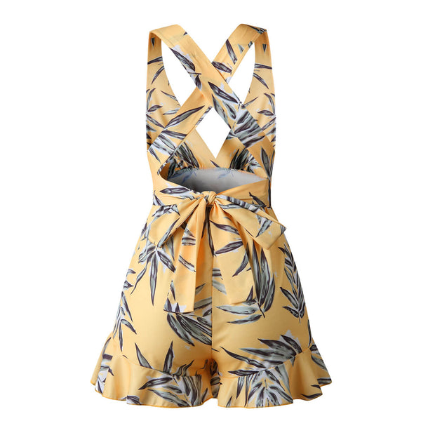 ayliss women 2019 floral backless jumpsuit outfit
