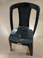 Black Chairs (Light & Stackable)