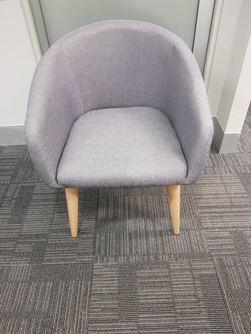 Visitor / Panel Chair - Light Grey